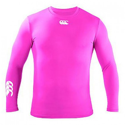 Canterbury Cold Long Sleeve Top Bright Pink
