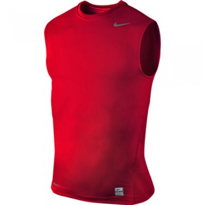 Nike Core Compression Sl Top 02 Varsity Red