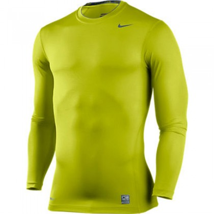 Nike Core Compression Ls Top 07 Bright Cactus