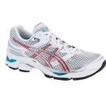 Asics Gel Cumulus 13 (W) White Red Torquoise