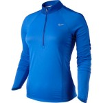 Nike NIKE SPHERE LS 1/2 ZIP TOP (W) TREASURE BLUE