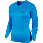 Nike EMBOSSED LS TOP (W) BLUE GLOW