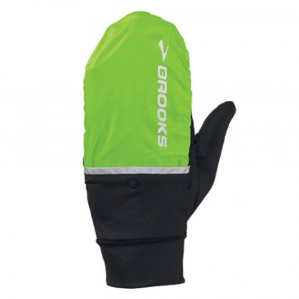 Brooks Adapt Glove brite green