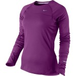 Nike Miler Ls (W) Bold Berry