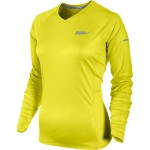 Nike Embossed Ls Top (W) Sonic Yellow