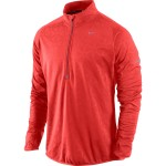 Nike Element Thermal 1/2 Zip Max orange