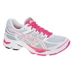 Asics Gel Cumulus 13 (W) White/Neon Pink/Orange