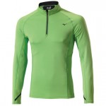 Mizuno Warmalite Top 1/2 Zip Green/Flash