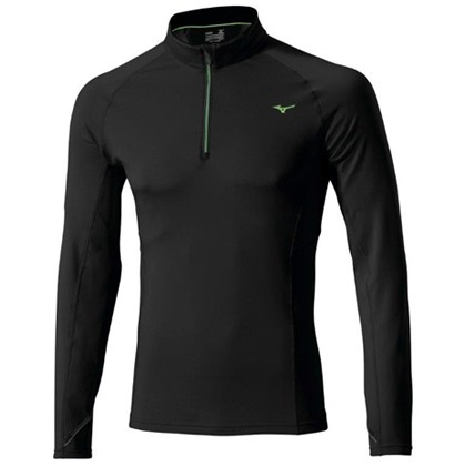 Mizuno Warmalite Top 1/2 Zip Black