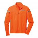 Brooks Essential 1/2 Zip Orange/Anth