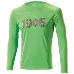 Mizuno Drylite 1906 LS Tee Green/Flash
