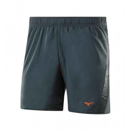 Mizuno Drylite Short 5.5 Charcoal/Black