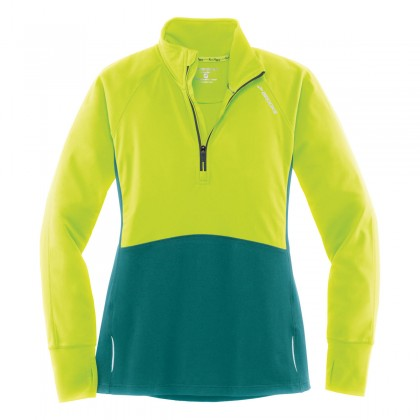 Brooks Drift 1/2 Zip (W) Nightlife/Kale