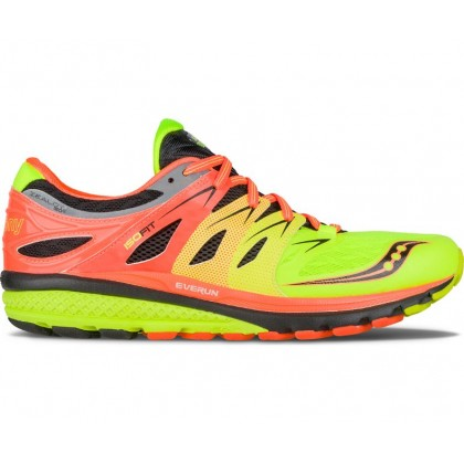 Saucony Zealot ISO 2 Orange/Citron/Black