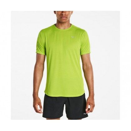 Saucony Short Sleeve Lime