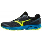 Mizuno Wave Rider 22 Ombre Blue/Safety Yellow/Blue