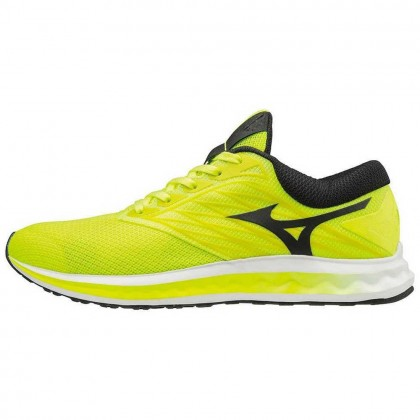 Mizuno Wave Polaris Safety Yellow/Black/White